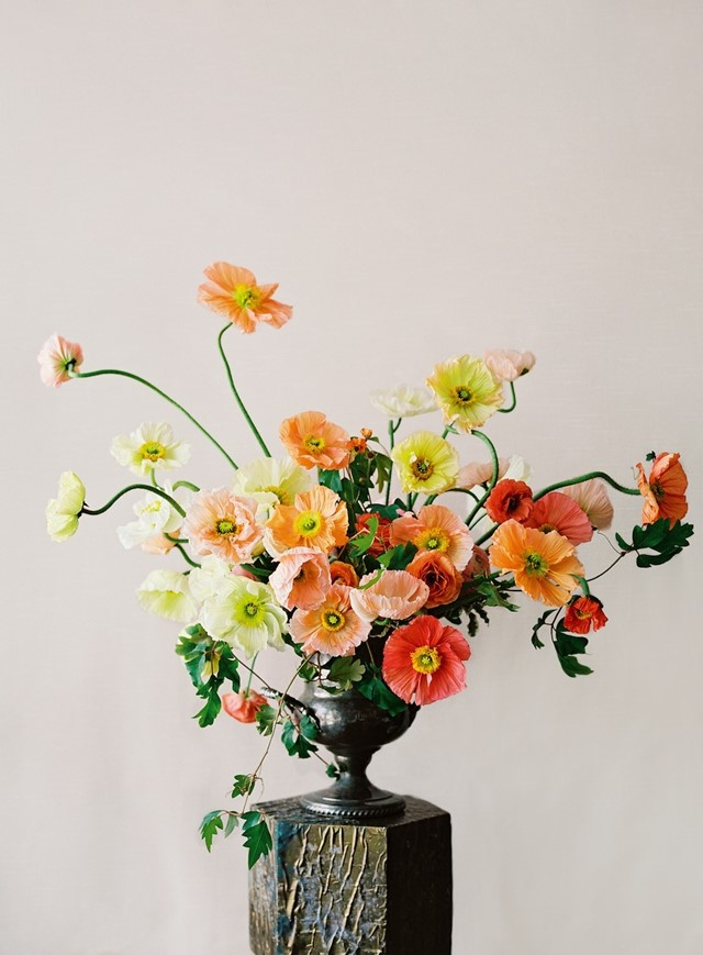 Arrangement by Sarah Winward of Honey of a Thousand Flowers