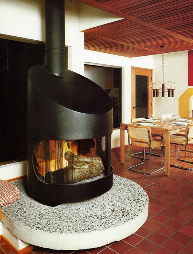 Fireplace by Wendell Lovett from The House Book, 1976
