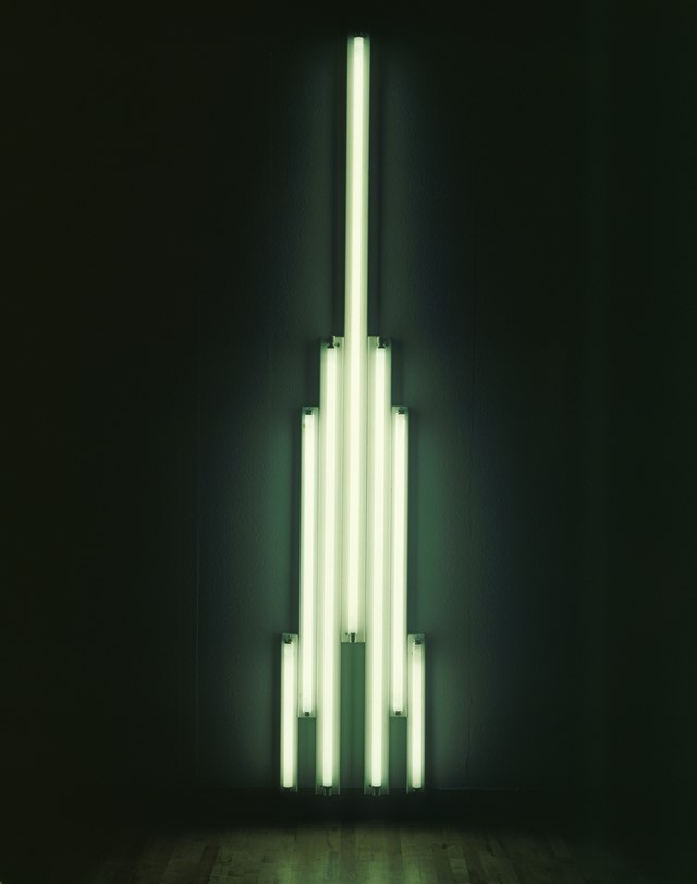 Dan Flavin, 'Monument' for V. Tatlin, 1966-9