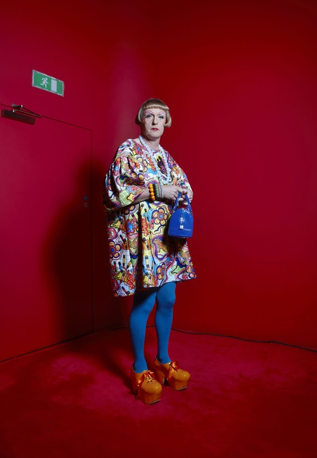 Grayson Perry by Richard Ansett, 18 September 2013