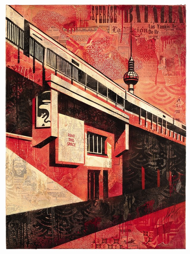 Berlin Tower by Shepard Fairey