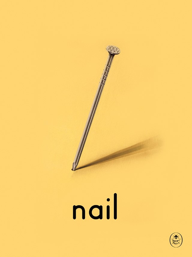 N is for Nail