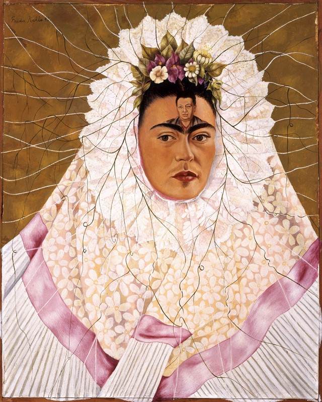 Frida Kahlo Diego on My Mind (Self Portrait as Tehuana)