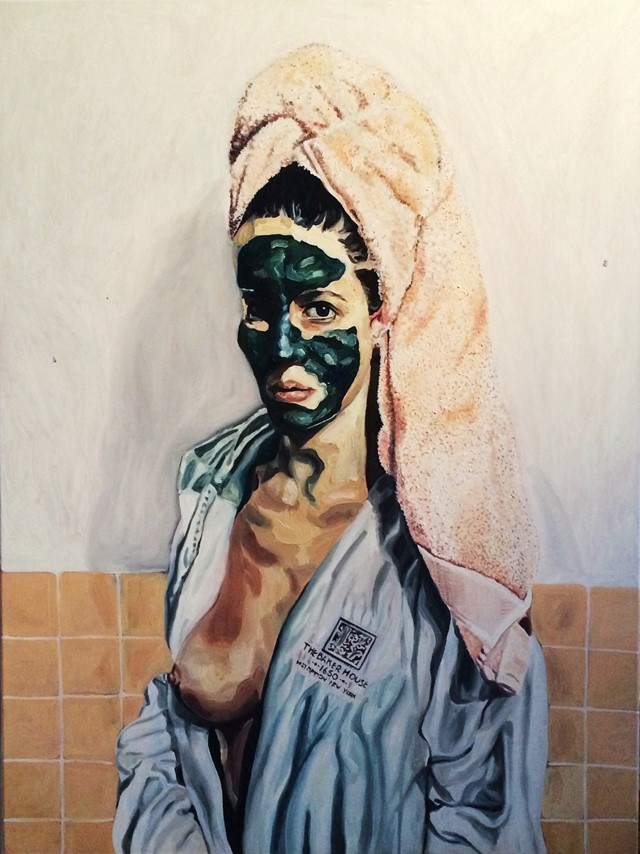 Tali Lennox, Self portrait
