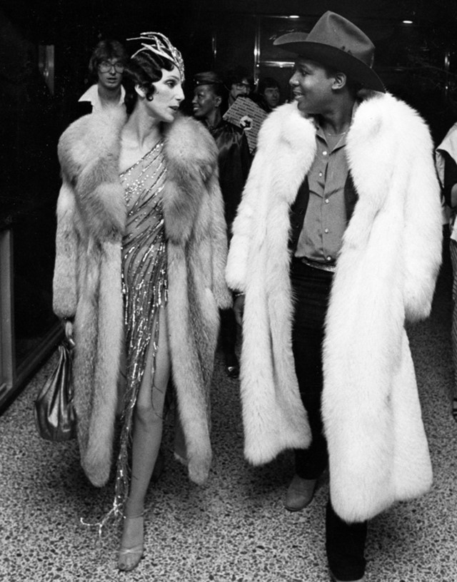 Cher and Sylvester attend the 1978 Disco Convention Banquet