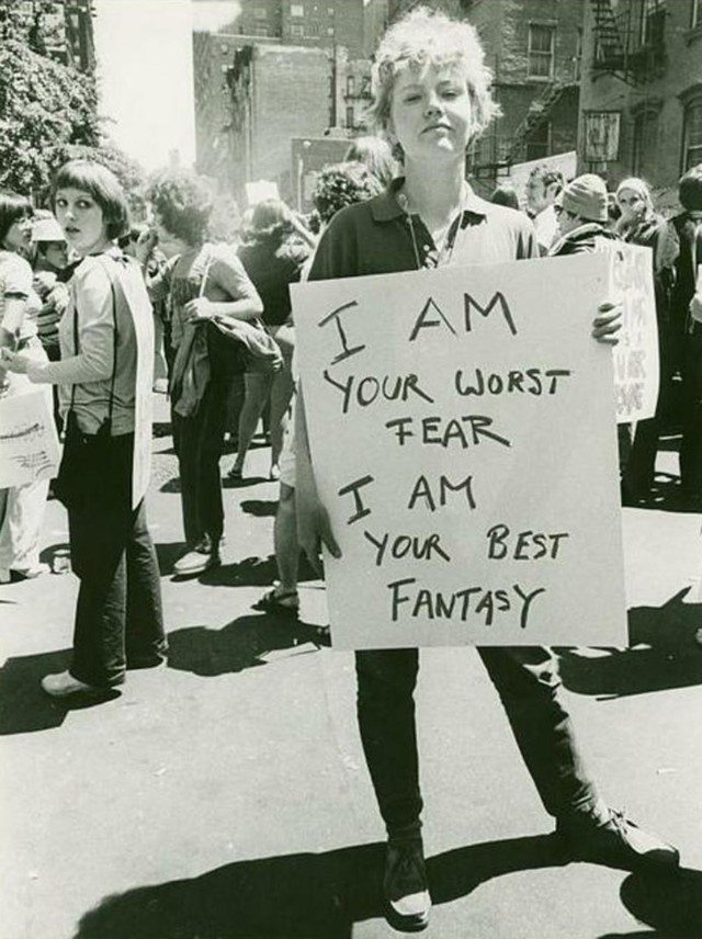 I am your worst fear I am your best fantasy, New York, 1970
