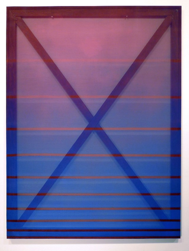 X (blue and maroon), 2014