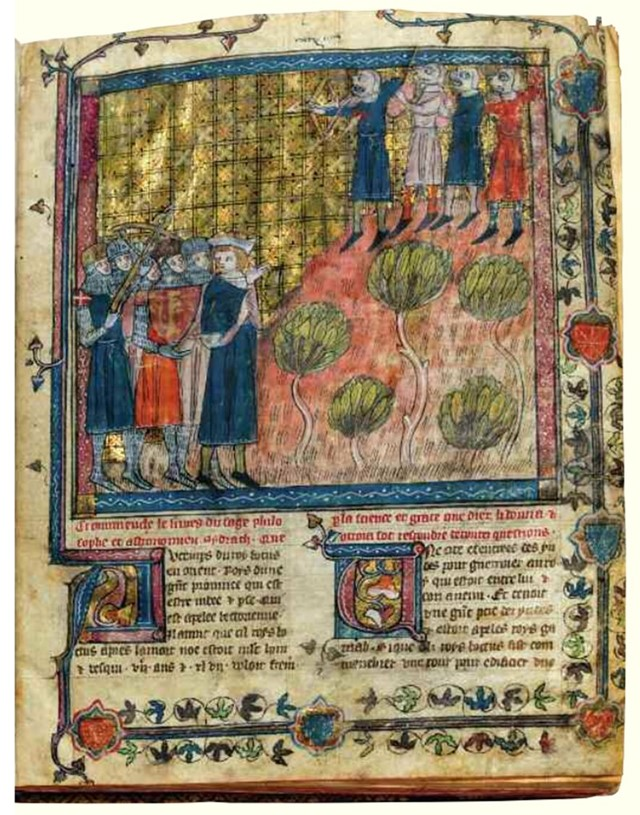 The Book of Sydrac of Joan of France, Queen of Navarre, Pa