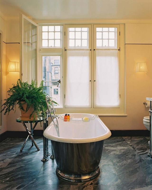 Chiltern Firehouse Bathroom