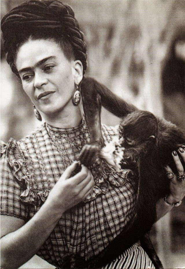 Frida Kahlo and Fulang-Chang
