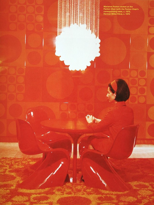 018-verner-panton-theredlist & Five Scandinavian Chairs That Shaped Contemporary Culture | AnOther