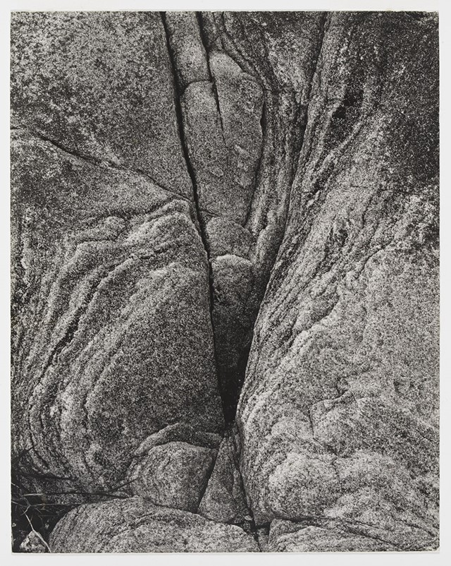 Paul Strand (1890-1976), Rock, Loch Eynort, South