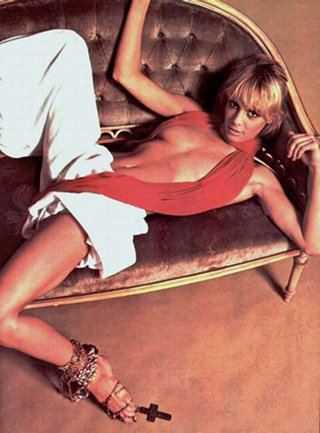 Anita Pallenberg 1967 - James Baes