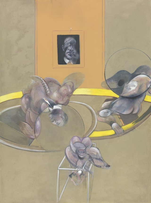 Three-Figures-and-Portrait-1975