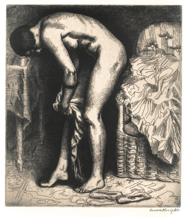 LAURA KNIGHT_Putting on Tights_courtesy The Fine A