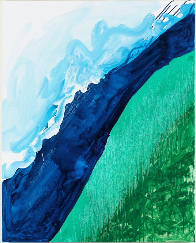 Crashing Wave, Mary Heilmann