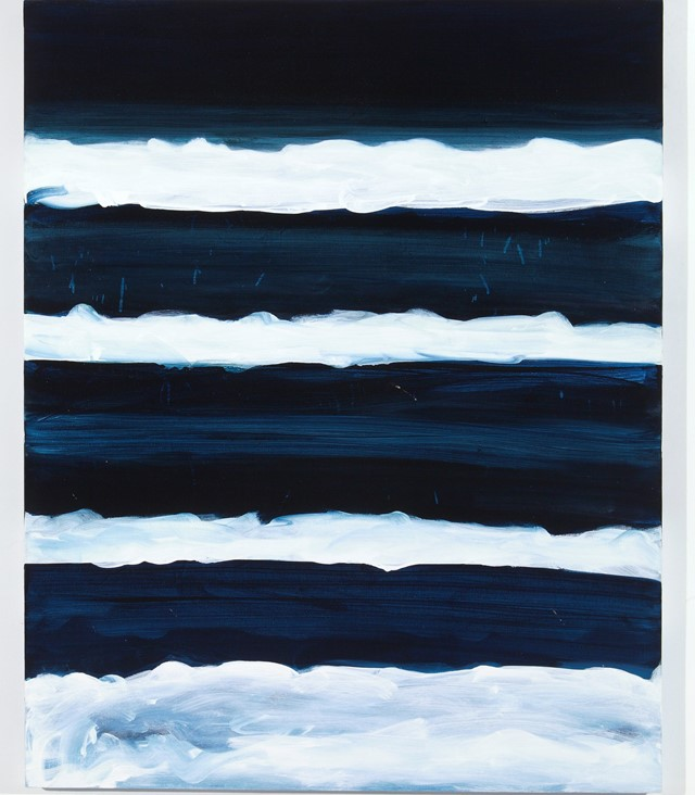 Night Swimmer, Mary Heilmann