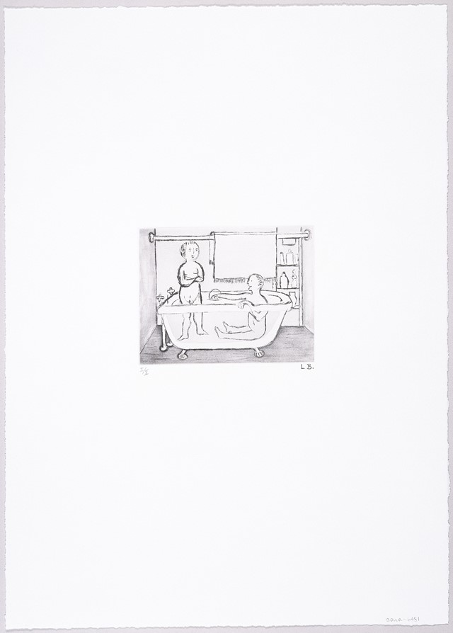 Louise Bourgeois, Untitled (Children in Tub), 1994