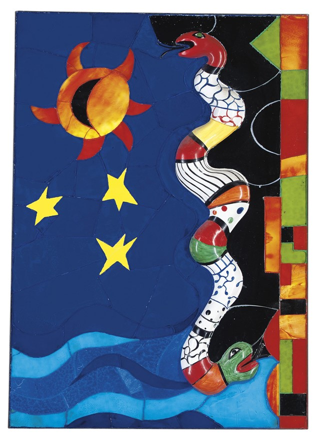 Niki-de-Saint-Phalle---Le-serpent,-1987-(courtesy-