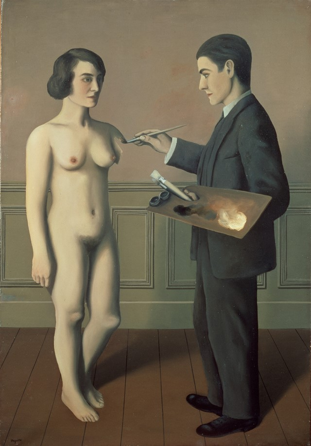 Magritte_Tentative de l'imposssible_1928