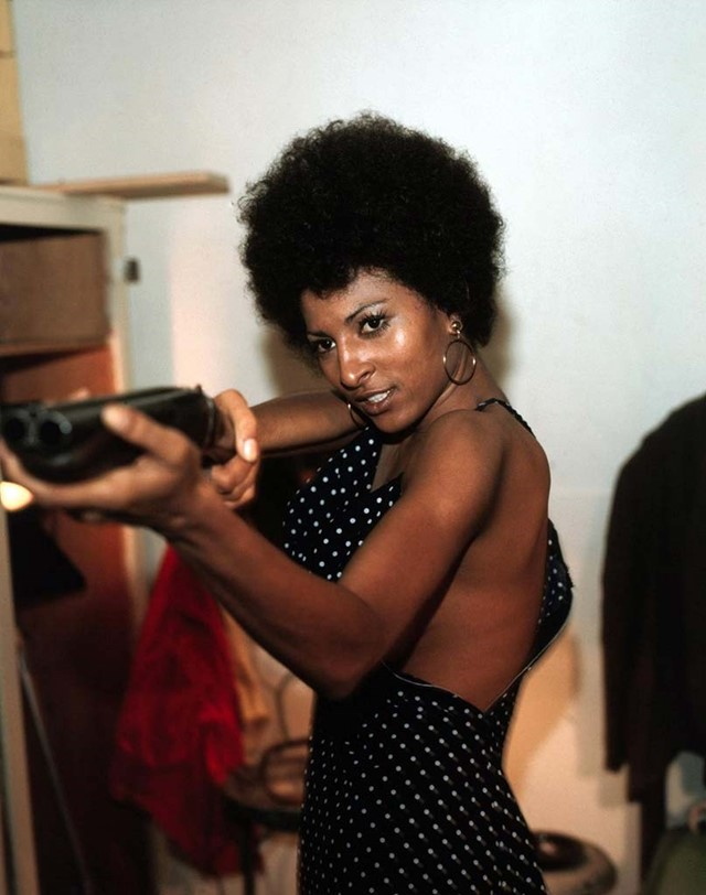 as Pam grier