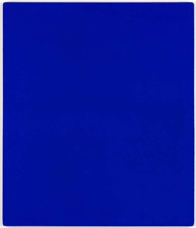 Untitled blue monochrome, 1959