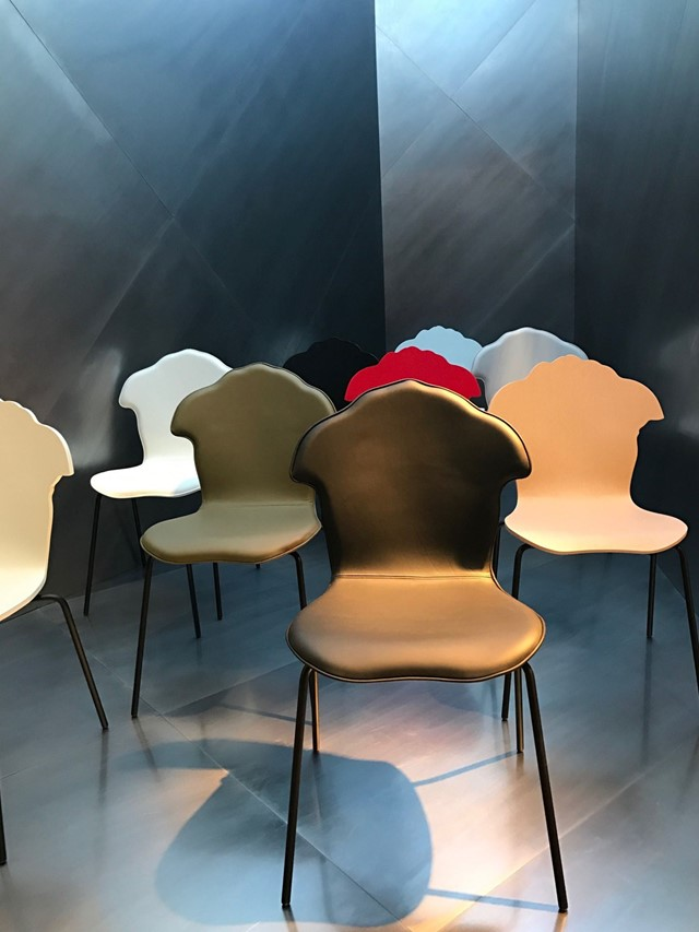Versace Salone Del Mobile - The ShadoV Chairs