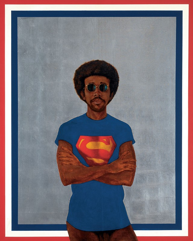Barkley-Hendricks,-Icon-For-My-Man-Superman-(Super