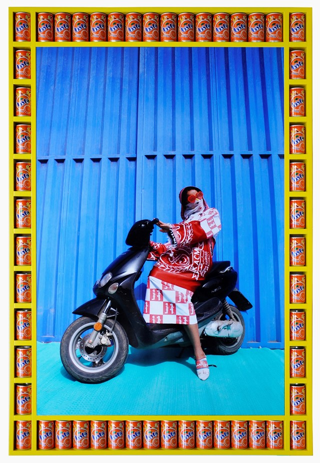 1. Khadija, photograph by ©Hassan Hajjaj, courtesy