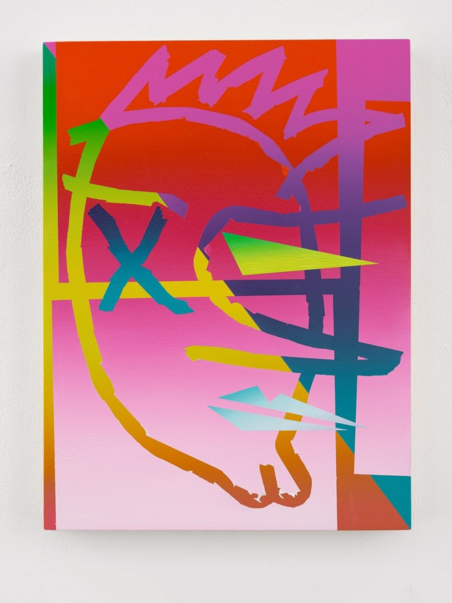 Eddie Peake Autoritratto Tre 2017 (medium res)
