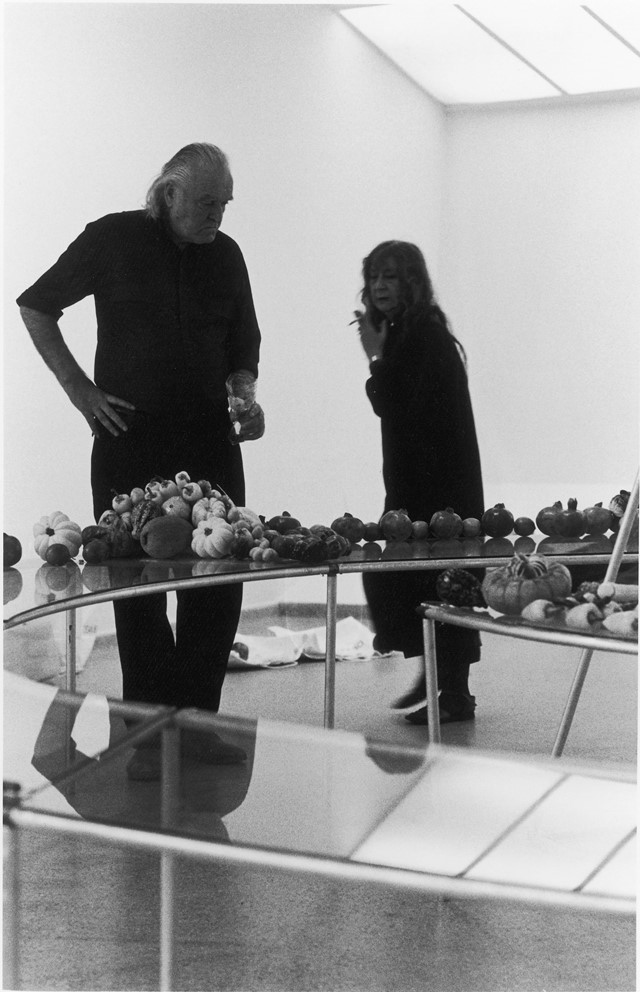 10.Mario and Marisa Merz at Guggenheim Museum, New