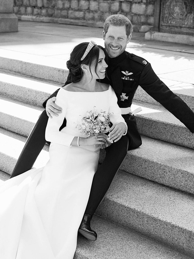 Meghan Markle Givenchy Dress Royal Wedding