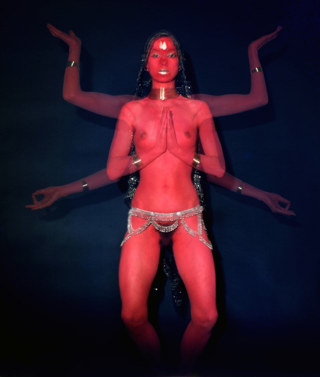 8. Penny Slinger_Penny as Red Dakini_1977_Mayotte