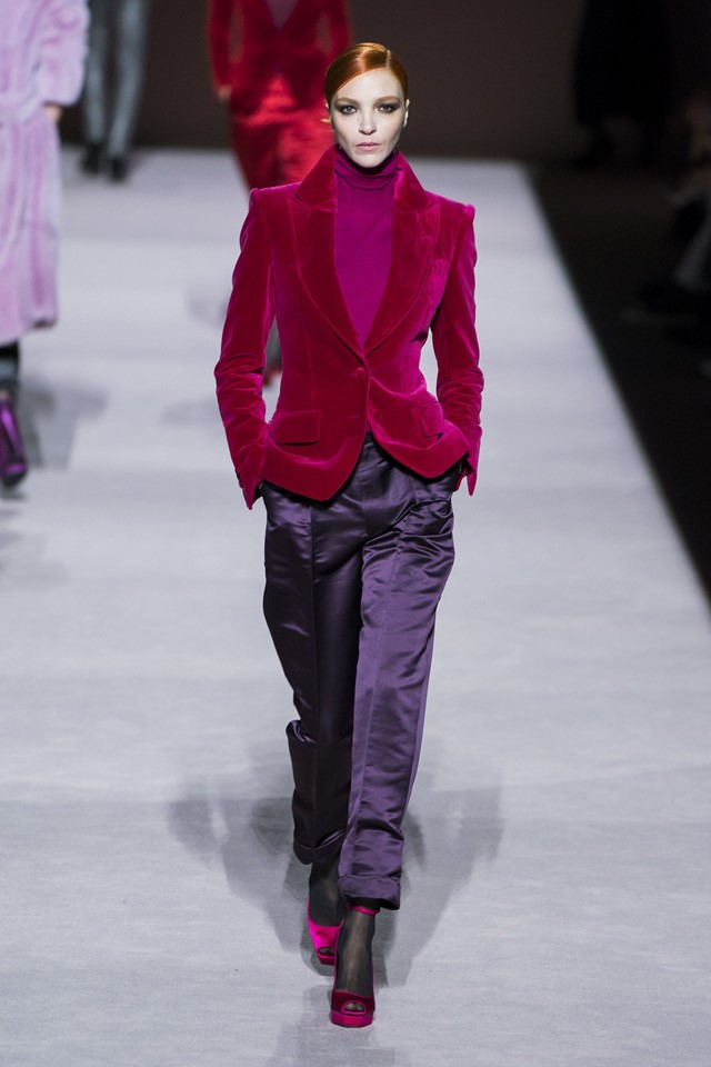 Tom Ford Autumn/Winter Fall 2019 Collection NYFW
