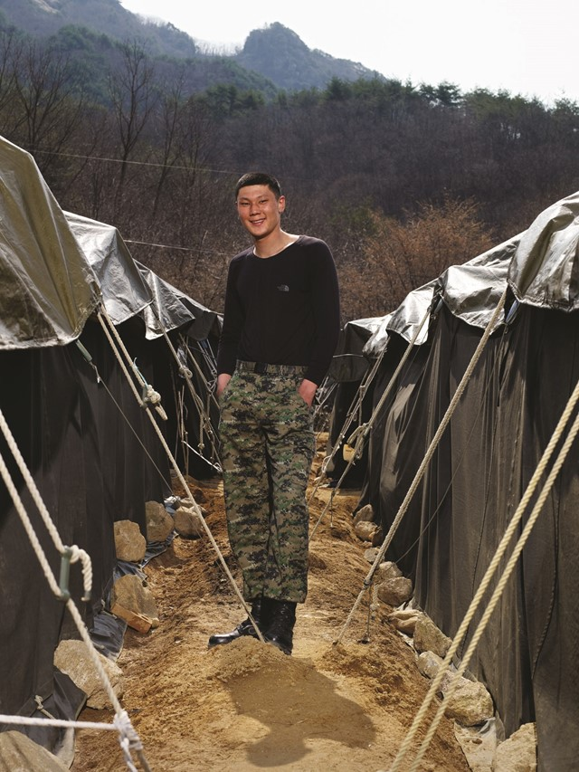 Heinkuhn Oh North South Korea border DMZ soldiers men