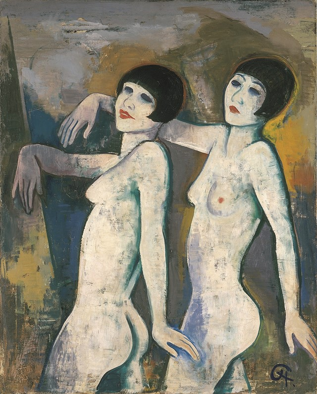 14. Karl Hofer, Tiller Girls, before 1927, Kunstha