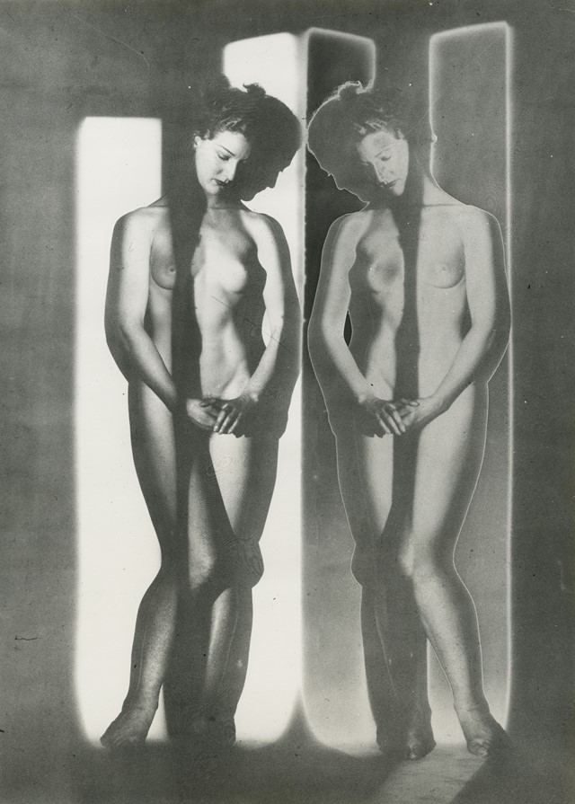 Surreal Nudes by Visionary Fashion Photographer Erwin Blumenfeld