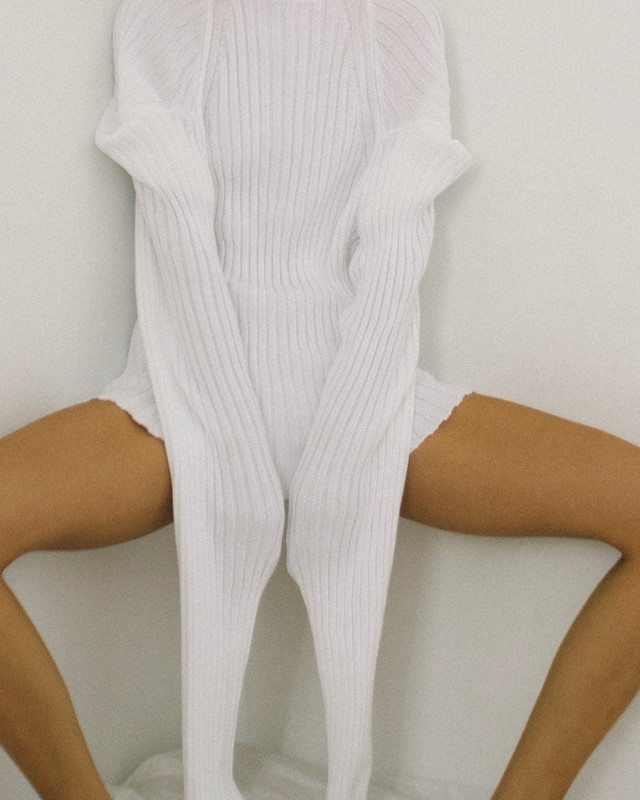 Christina Seewald Central Saint Martins Knitwear Sexy