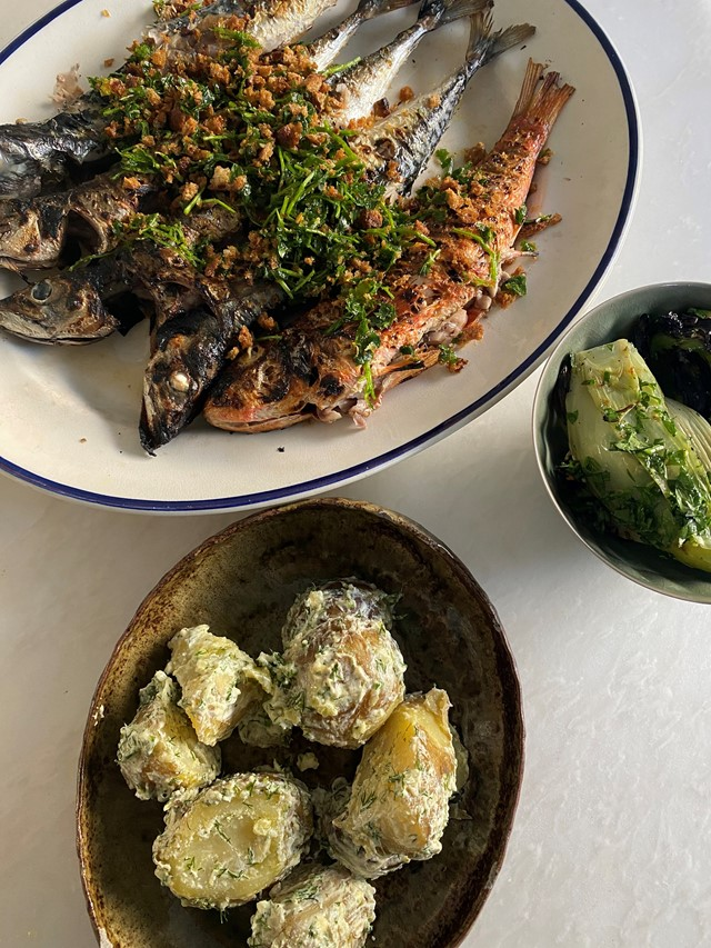 Max Rocha Chef Recipe Mackerel Fennel Barbecue