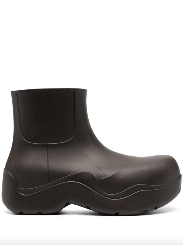 BV Puddle boots by Bottega Veneta