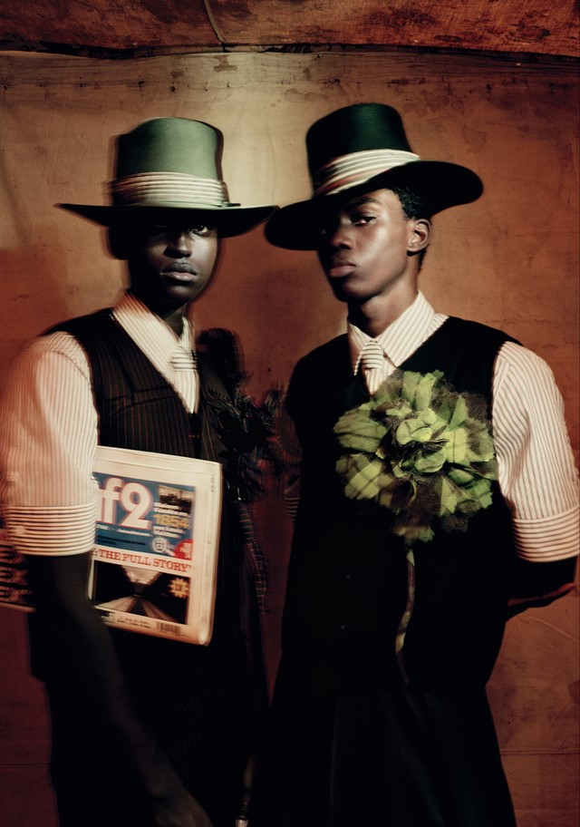 Louis Vuitton Ib Kamara stylist Paolo Roversi photographer
