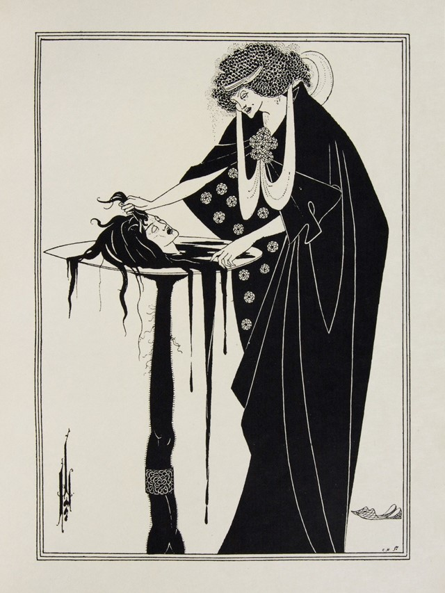 Aubrey Beardsley, page from Salome, 1894, 102849_4