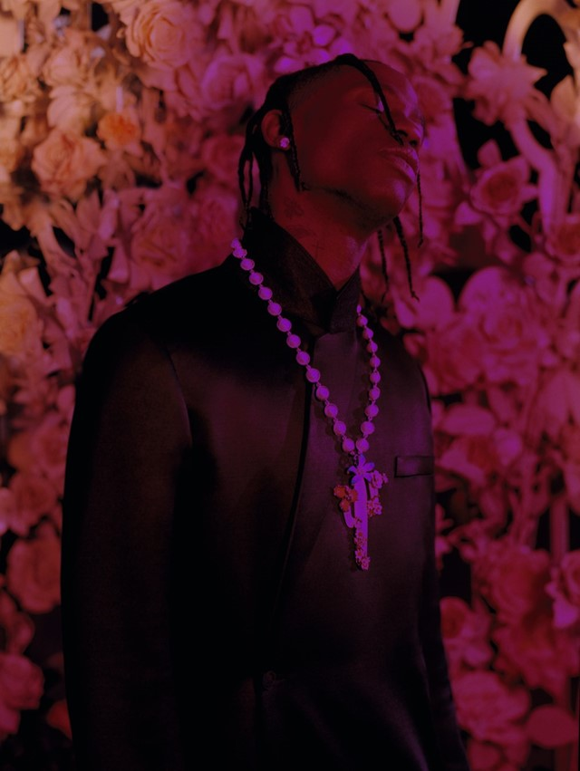 Travis Scott AnOther cover story Dior collection show collab