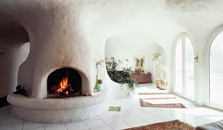 Inside a Peter Vetsch Earth House