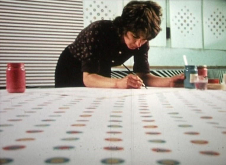 5. Still from Film (Bridget Riley)