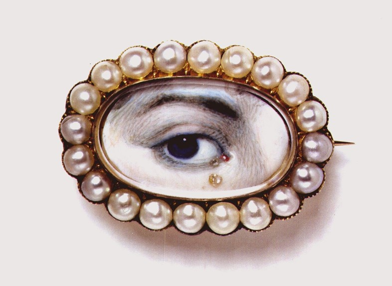 Georgian Eye Jewellery, 1700s