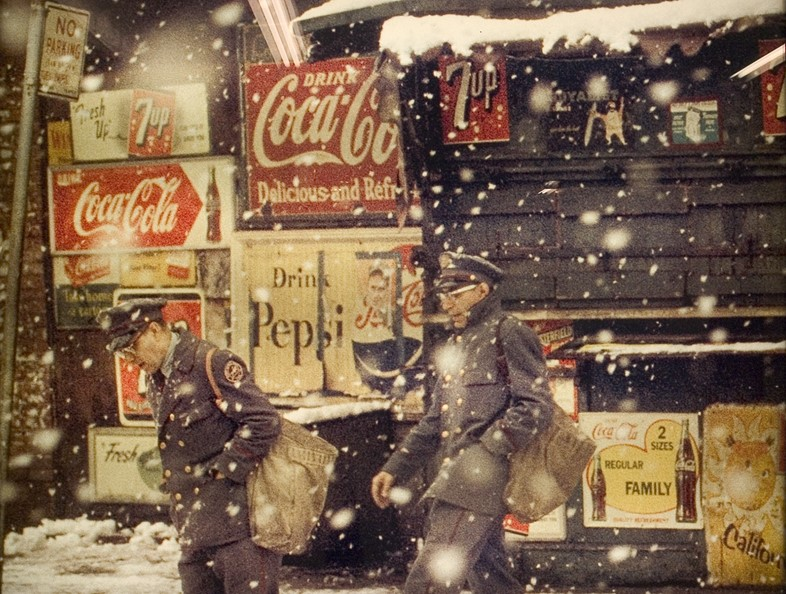 New York by Saul Leiter, 1950s