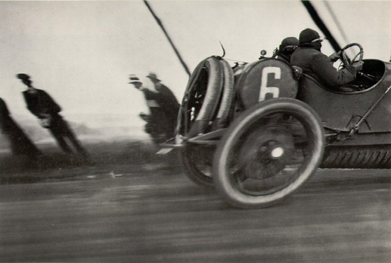Motor race by Jacques Henri Lartigue, c. 1900s