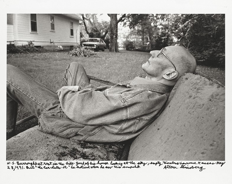 W.S. Burroughs, May 1991