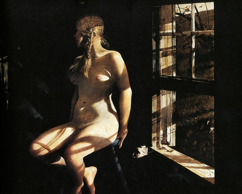 Andrew Wyeth, Lovers, 1981
